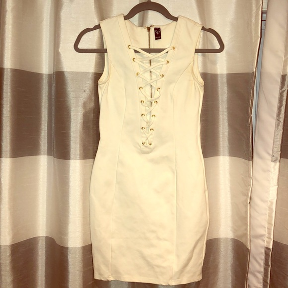 Windsor Dresses & Skirts - White Laced Up Dress
